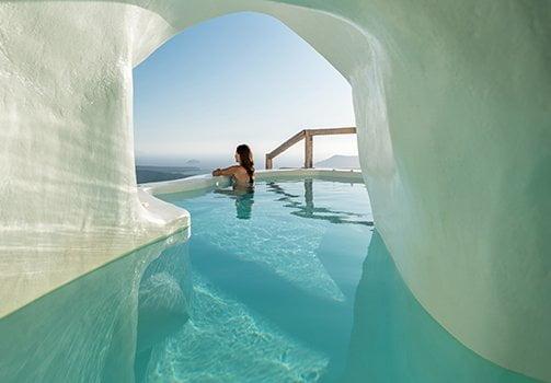 Cocoon Santorini Honeymoon Suite Plunge Pool